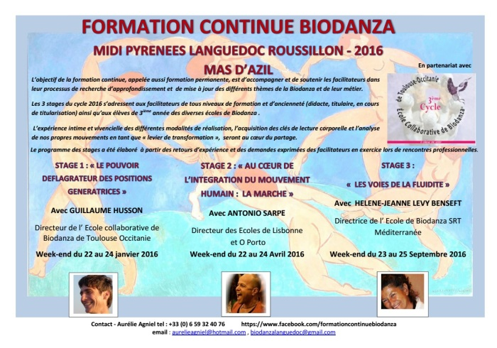 formation continue biodanza